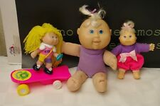 Cabbage Patch Kids Lot of 3 Mini Dolls Blondes
