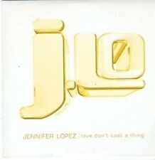 (BI492) Jennifer Lopez, Love Don't Cost A Thing - DJ CD