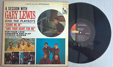 A Session with Gary Lewis and The Playboys LP Vinyl Record Stereo LST-7419