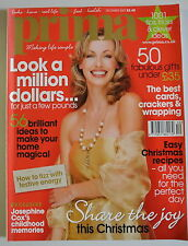 Prima Magazine December 2007. Look a million dollars...for just a few pounds.