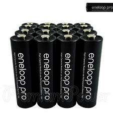 16 x Panasonic Eneloop PRO AA batteries 2500mAh Rechargeable High capacity Ni-MH