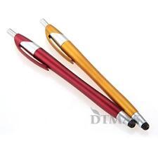 2 Lápiz Bolígrafo Puntero Táctil Capacitivo para Teléfono Móvil Tablet PC