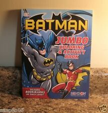 BATMAN and ROBIN Coloring and Activity Book NEW
