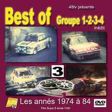 DVD Best of Rallye Historic Gr.1 2 3 4 1974 - 1984 Volume 3 Monte etc 60m 48TV