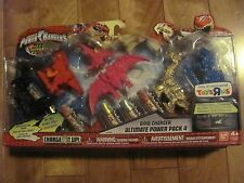 Power Rangers Dino Charger Ultimate Power Pack #4 TRU Bandai #97621 NEW