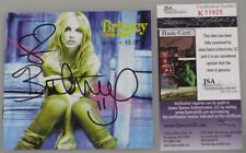 BRITNEY SPEARS Hand Signed CD Cover 'BRITNEY' + JSA COA *BUY GENUINE*
