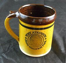 DAKOTA STONEWARE BUSHNELL SD Coffee Mug FORT ATKINSON State Historical Park