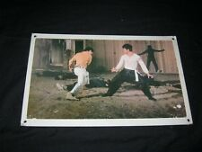 Original FIST OF FURY BIG BOSS BRUCE LEE Swiss/Hong kong Lobby Card #1