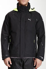 NEW PUMA BLACK STORM FORCE 3 WATERPROOF DECK JACKET SZ XXL