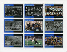 Gambia 2011 MNH Internazionale Inter Italian Football 9v MS Calcio Soccer Stamps