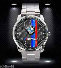 BMW M POWER M5 E46 SPORT CAR F30 SERIES MENS SPORT METAL WATCH