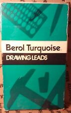 Berol Turquoise Drawing Drafting pencil lead Leads 1/2 Gross sealed box 6375-EO