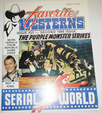 Favorite Westerns Magazine Serial World & Dennis Moore 1986 101714R2