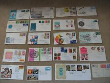 JOB LOT OF VINTAGE 20 x FIRST DAY ISSUE STAMPS COVERS 1950 0n  FESTIVAL BRITAN