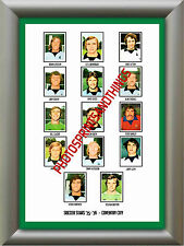 COVENTRY CITY - 1975-76 - REPRO STICKERS A3 POSTER PRINT