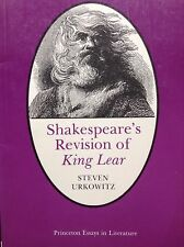 Shakespeare's revision of King Lear steven urkowitz