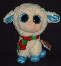 "TY BEANIE BOOS BOO'S - ARSENTIY the 6"" LAMB / SHEEP - MINT with NEAR PERFECT TAG"