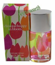 CLINIQUE HAPPY IN BLOOM 1.0 OZ EDP SPRAY FOR WOMEN NEW IN A BOX BY CLINIQUE