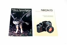 NIKON F3 CAMERA CATALOG   NIKON SPEEDLIGHTS CATALOG
