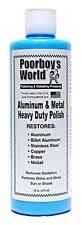 Poorboys Aluminium & Metal Heavy Duty Polish For Stainless Steel Copper Brass