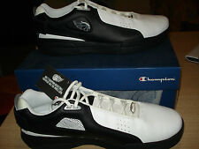 SCARPE SHOES CHAMPION BASKETBALL MISURA UK 11 EUR 46 BIANCO NERO BLACK WHITE