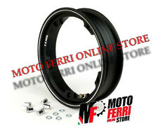 CERCLE TUBELESS MARGHERITA NOIR 3-00-10 VESPA 50 SPECIAL - MADE IN ITALY