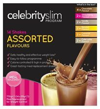 Celebrity Slim 7 Day Assorted Shakes  (14 x 55g Shake Sachets)