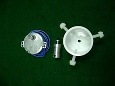 ** 220-240 ** volts:   15-17 RPM  DRYING-DRYER MOTOR   with Rod Chuck