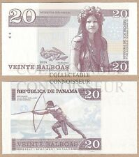 Panama 20 Balboas 2014 UNC SPECIMEN Private Issue NO SERIAL Test Note Banknote