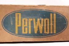 alte Pappschachtel Perwoll von Henkel Waschmittel OVP Verpackung Karton