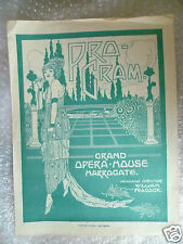 1928 Grand Opera House Programme THE WOULD BE GENTLEMAN,Moliere, F Anstey,D Lunn