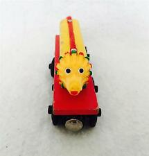 RARE Retired Wooden Thomas Train - CHINESE DRAGON - Red Base - Good condition