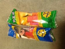 2 PEZ Mickey Mouse Dispensers Pluto and Mickey Mouse Sealed