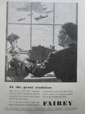7/1946 PUB FAIREY FIREFLY MK IV FIGHTER RECONNAISSANCE ROYAL NETHERLANDS NAVY AD