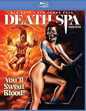 Death Spa (Blu-ray/DVD, 2014, 2-Disc Set)