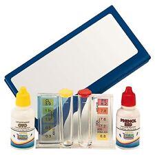 Trousse d'analyse liquide  Piscine Kit Test Ph  Taux de Chlore  Qualité de l'eau