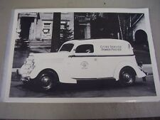 1935 FORD SEDAN DELIVERY CITIES SERVICE TRUCK  12 X 18 LARGE PICTURE / PHOTO