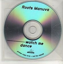 (CU458) Roots Manuva, Watch Me Dance - DJ CD
