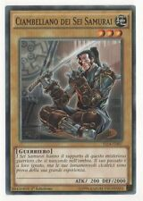 Ciambellano dei Sei Samurai YU-GI-OH! YS14-IT007 Ita COMMON 1 Ed.