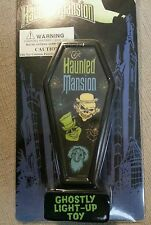 DISNEYLAND DISNEY RETIRED HAUNTED MANSION GHOSTS COFFIN LIGHT-UP PIN/LANYARD MOC