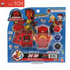 Turning Mecard W VOLCA Red ver. Falcon Transformer Korean Robot Car Toy 2017