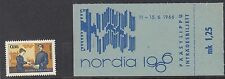 FINLAND :1966 Nordia Stamp Exhibition stamp + ticket   SG716 never-hinged mint