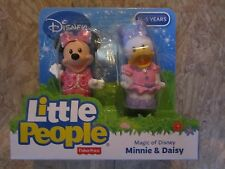 Fisher Price Little People Minnie Daisy duck Magic Disney NEW Mickey Buddy Pack