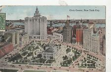 BF19031 civic center new york city USA  front/back image