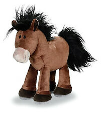*NEW* PLUSH SOFT TOY NICI Horse Club - Standing Brown Plush Horse - 30cm