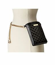 MICHAEL Michael Kors - Smooth Belt Bag with Embossed Quilt and Stud Detail, S/M