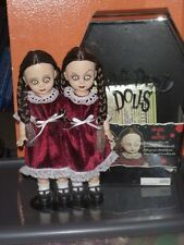 LIVING DEAD DOLL TWINS ~ HAZEL & HATTIE DOLLS!!