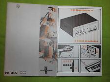 Philips Bedienungsanleitung Cassettendeck N5531 und N5536 !