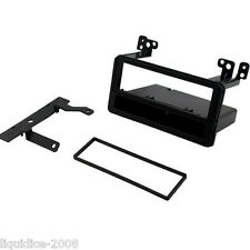 CT24TY24 TOYOTA AVENSIS 2000 to 2002 BLACK SINGLE DIN FASCIA ADAPTER PANEL