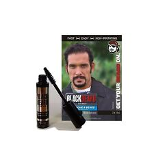 Blackbeard for Men - Formula X instant brush-on beard color 1-pk